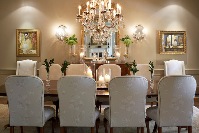 Classic beauty traditional dining room toronto by for Makeup by tiffany d dining room