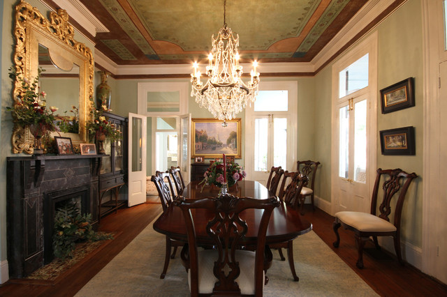 Classic charleston traditional dining room for A la mode salon hudson wi