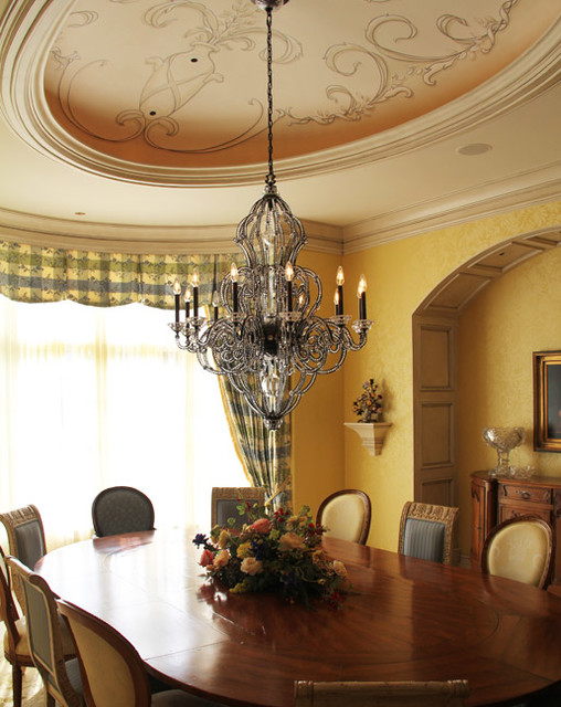 French Country traditional-dining-room