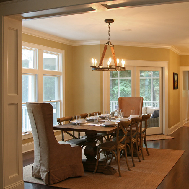 Classic Lakefront Traditional Dining Room Milwaukee