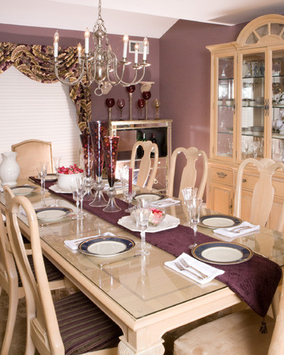 Classic Living Traditional Dining Room New York By