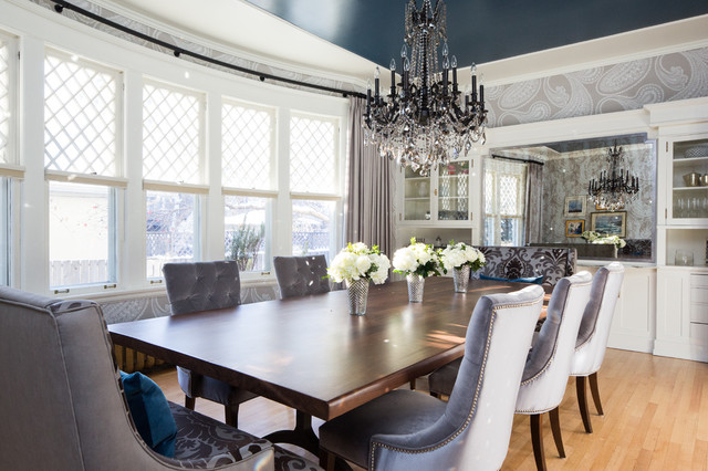 Classic meets modern interior design calgary for Best private dining rooms calgary