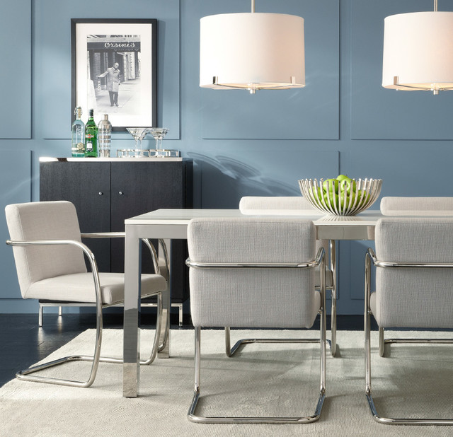 Marvelous Classic Parsons Style Dining Modern Dining Room