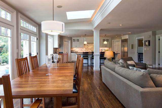Classic Transformation Traditional Dining Room New