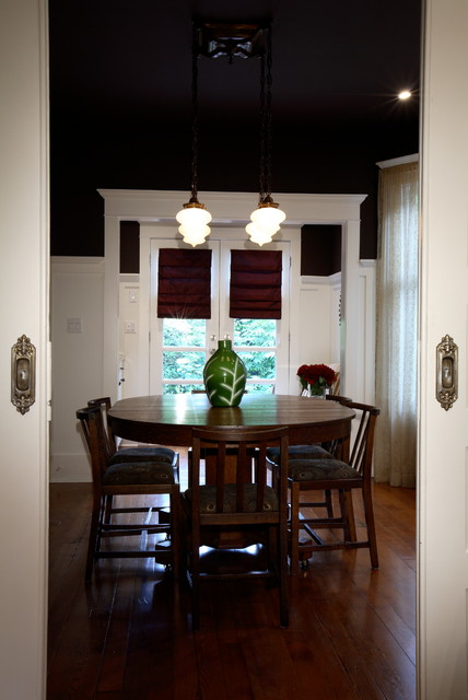 Classic Vancouver traditional-dining-room