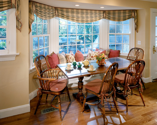 Classic wood georgian colonial traditional dining room for Georgian dining room ideas