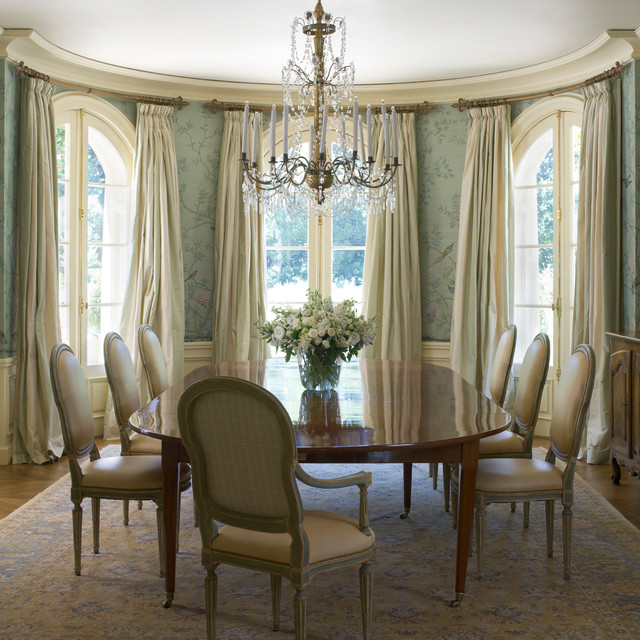 Classical French Chateau Traditional Dining Room