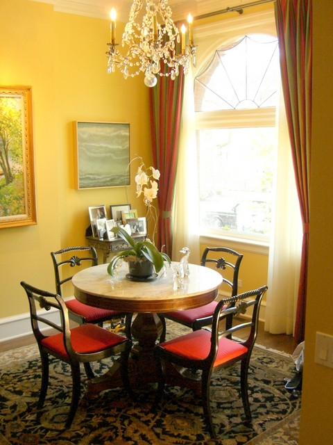 Classical Townhouse Traditional Dining Room Chicago