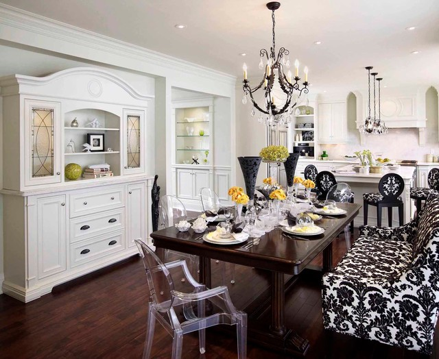 Classicism With a Twist traditional-kitchen