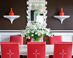 Clear Creek eclectic dining room