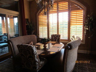 Client Breakfast Room - Traditional - Dining Room - kansas city - by Design Ideas By Rhonda ...