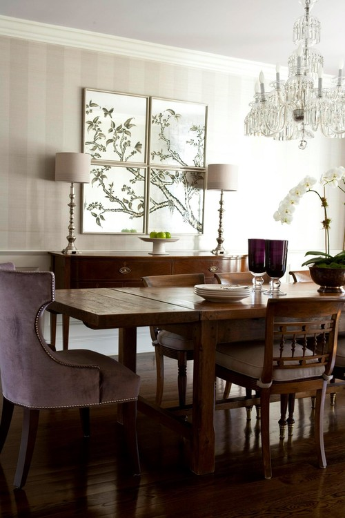 50 Strikingly Modern Dining Rooms That Inspire You To: The Artwork Above The Buffet/server. Who Makes It?