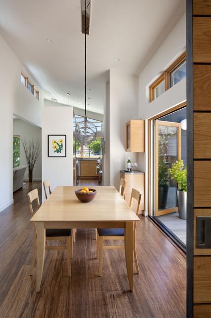 Cloud Street Residence modern-dining-room