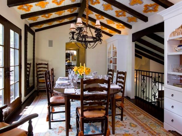 Club Laurel Canyon mediterranean-dining-room