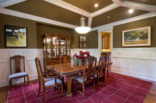 Clyde Hill Custom #2 (Bellevue) traditional-dining-room