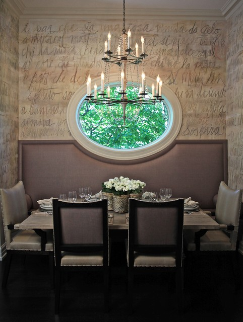 CMR Interiors & Design Consultations Inc contemporary dining room