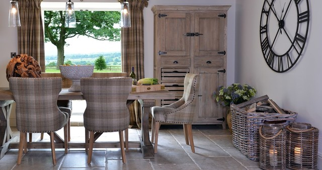 Coach House Contemporary Furniture Rustic Dining Room