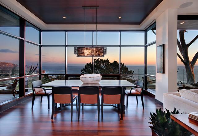Coastal Contemporary contemporary-dining-room