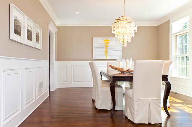 Coastal Living in Fairfield county beach-style-dining-room