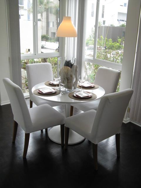 Coastal Style Dining Room Modern Dining Room Los