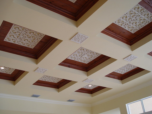 Coffer Ceilings traditional-dining-room