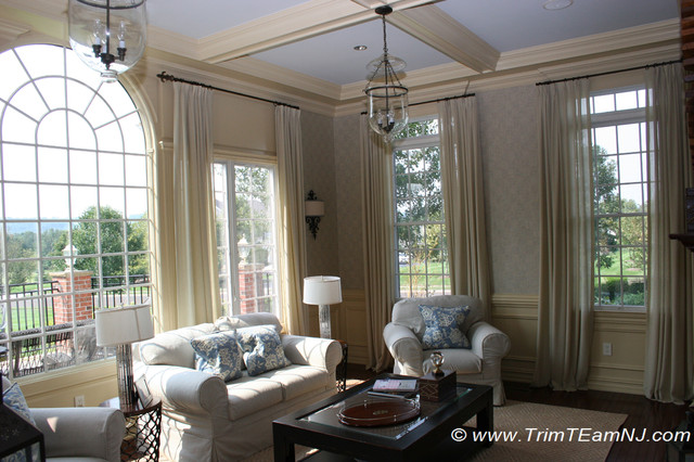 Coffered Ceilings and Beams traditional-dining-room
