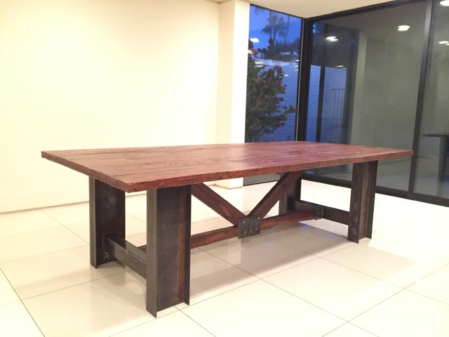 coia dinning room table craftsman dining room by old sol lumber