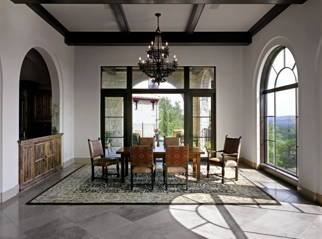Coldwater Canyon mediterranean-dining-room