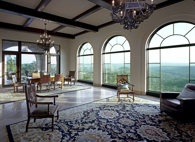 Coldwater Canyon mediterranean dining room
