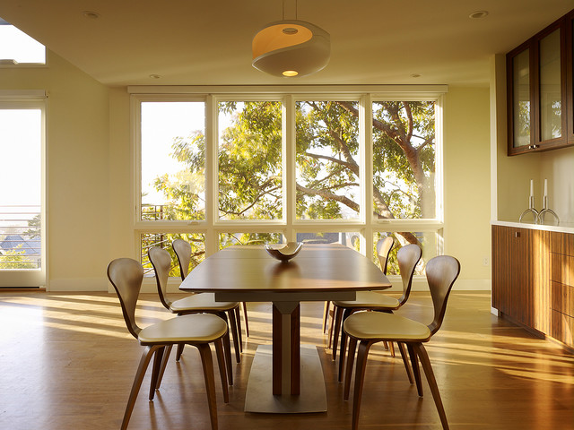 Cole Street Project contemporary-dining-room