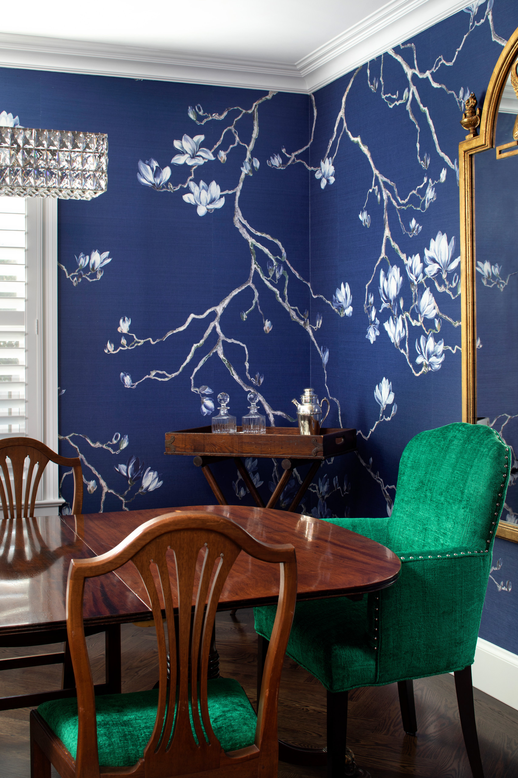 Colonial dining - Chinoiserie chic