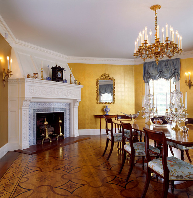 Colonial Dining Room: Colonial Revival Dining Room