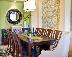 Color Pop contemporary-dining-room
