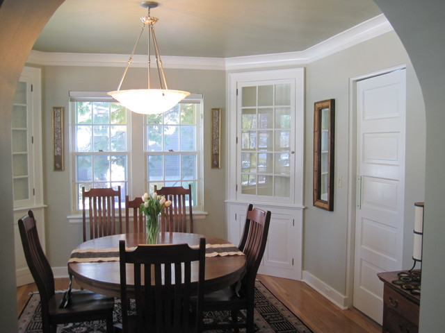 Color Update 1930s Home Traditional Dining Room