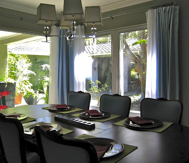 Colorful and Calm eclectic-dining-room
