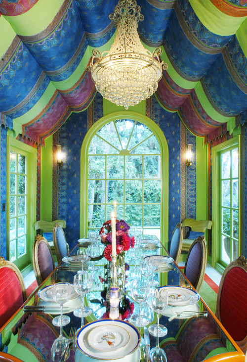 THIS Dining Room! Surrealism At Its Best.