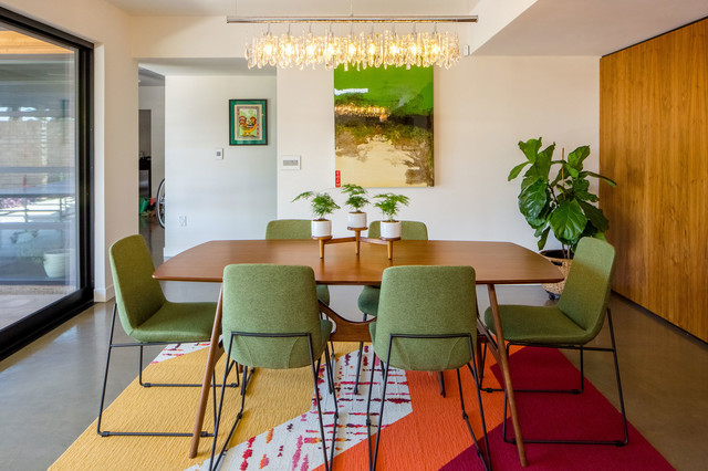colorful modern dining room. Colorful Modern Dining Area Midcentury Dining Room  Midcentury Room Phoenix