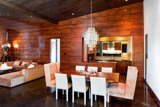 Comanche - Contemporary - Dining Room - austin - by Fine Focus ...