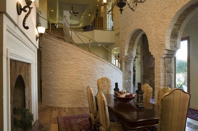 Comanche Lot 8 mediterranean-dining-room