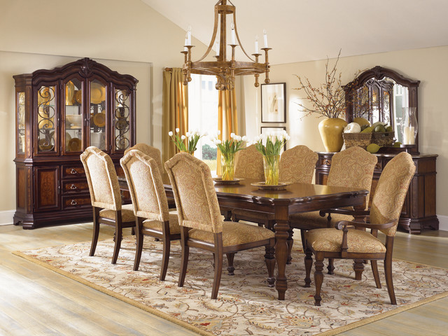 Comfortable dining chairs encourage seconds traditional for Comfortable dining room