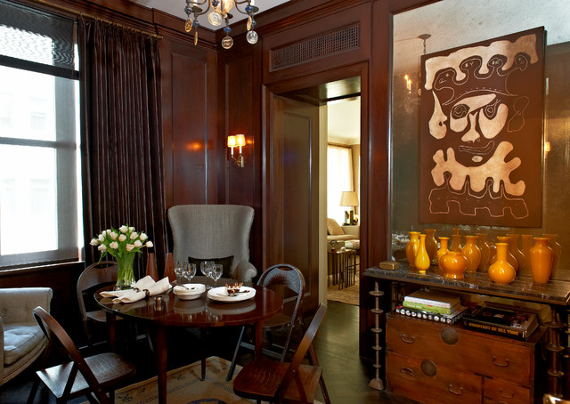 Comfortable Historic Interior traditional-dining-room