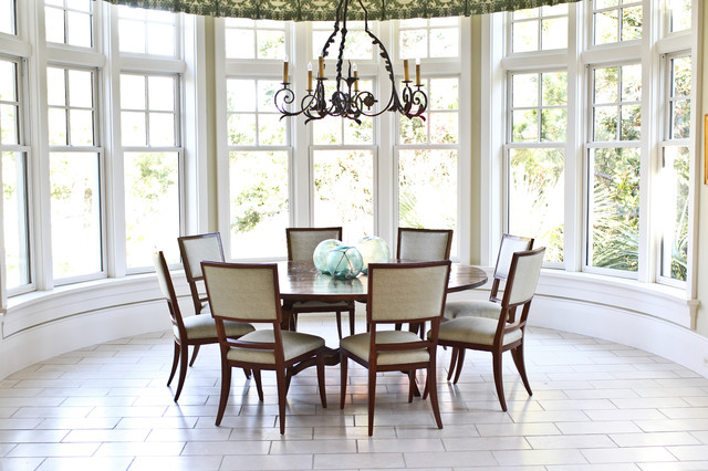 Eclectic Dining Room by Margaret Donaldson Interiors