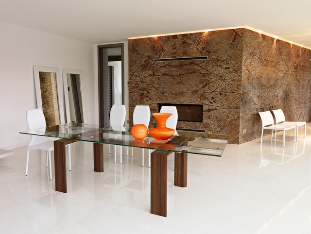 completed projects in the Philadelphia area contemporary-dining-room