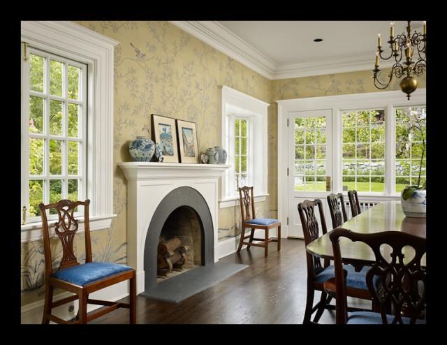 Conard Romano Architects traditional-dining-room