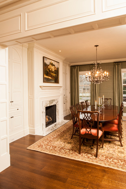 Design-Build Project in Rye traditional dining room