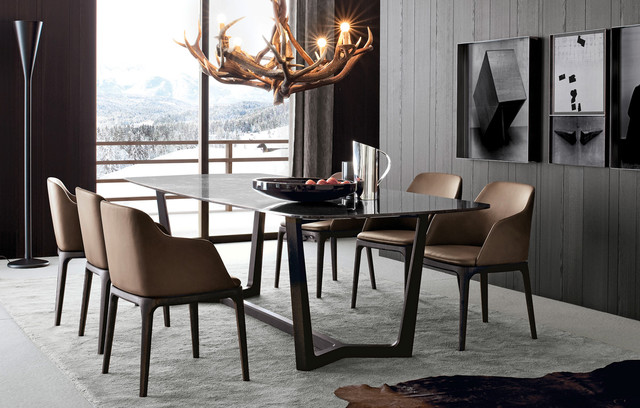 Dining Room Contemporary Entrancing Concord Dining Table  Contemporary  Dining Room  New York . Design Decoration