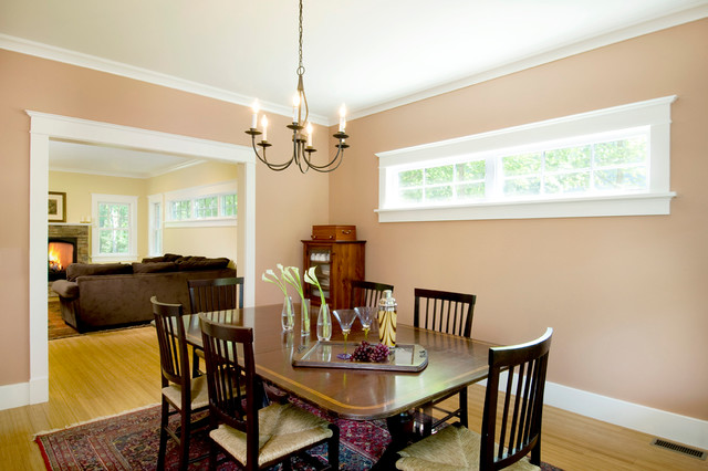 Concord modular farmhouse - Modular dining room ...