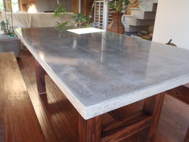 Buffkin Residence Modern Dining Room Charleston By Eco Designer Concrete