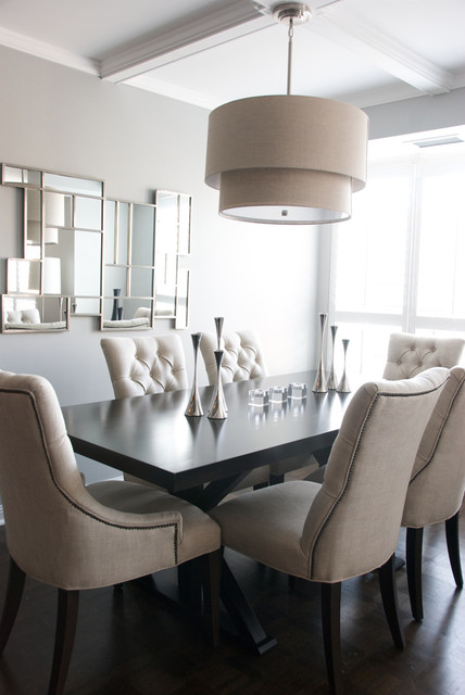 condo dining room - contemporary - dining room - toronto -