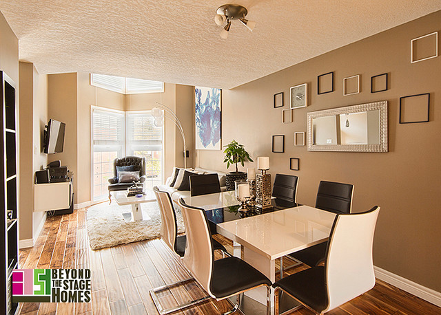Condo Redesign Project contemporary-dining-room